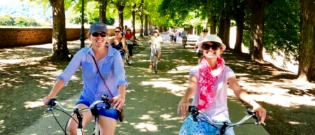Bike + Walking Tours Lucca